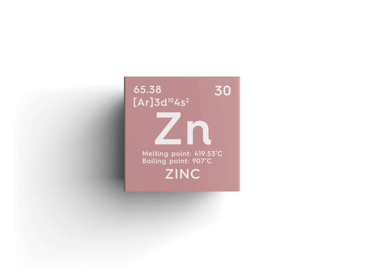chemical element zinc for hair loss