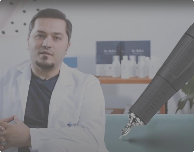 Dr Balwi explains the FUE technique