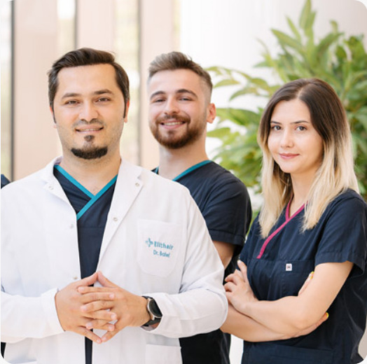 Dr Balwi and his team of specialists from Elithair