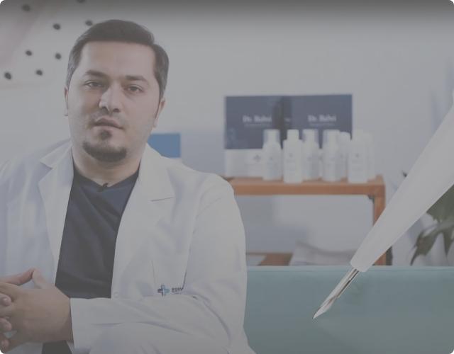 Dr Balwi explains the DHI technique