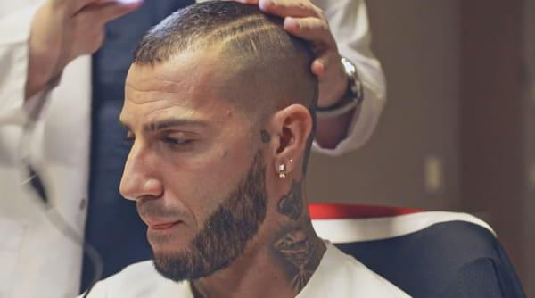Ricardo Quaresma getting a hair pigmentation at the elithair clinic